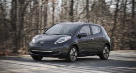 2013 Nissan Leaf. Photo by Nissan.