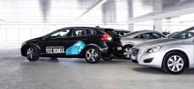 Volvo Autonomous Parking concept. Photo by Volvo.