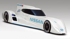 Nissan Zero Emission On Demand Racing Car. Photo by Nissan.