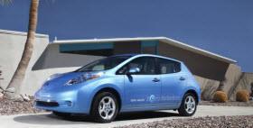 Nissan Leaf. Photo by Nissan.