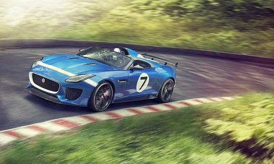 Jaguar Project 7 concept car (© Jaguar Cars Limited)