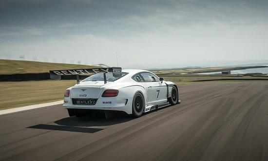 Bentley Continental GT3 race car (© Bentley Motors Limited)