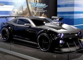 Car News: 700-hp Camaro transforms a cartoon snail in 'Turbo'