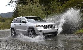 2012 Jeep Grand Cherokee (© Chrysler Group LLC)