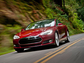 Tesla Model S. Photo by Tesla Motors.