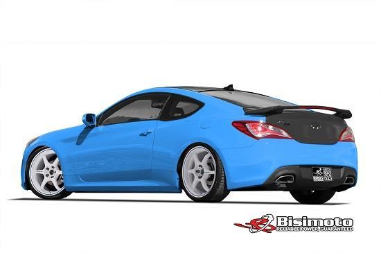 Hyundai Bisimoto Genesis Coupe © Hyundai Motor America