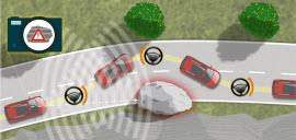 Ford Obstacle Avoidance System. Image by Ford.