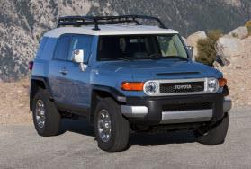 Toyota FJ Cruiser. Photo by Toyota.