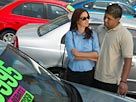 Image: Couple shopping for car (&#169; Medio Images/Getty Images)