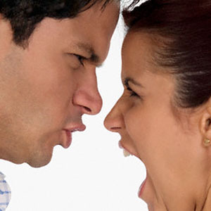 Image: Couple arguing © Corbis