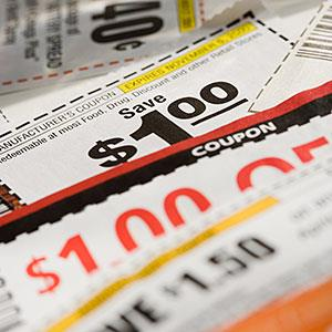 Image: Coupons © NULL/Corbis
