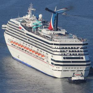 The Carnival Triumph cruise ship is towed toward the port of Mobile, Ala. last week. &#xA;&#169; Lyle Ratliff/Reuters&#xA;