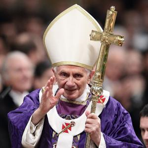 Pope Benedict XVI on February 13, 2013 (© ZUMA/Rex Features)