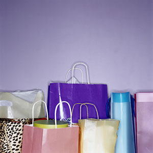 Logo: Shopping bags (Photodisc Red/Getty Images)