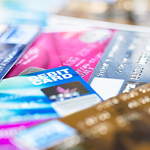 Image: Credit and debit cards © Image Source, Getty Images