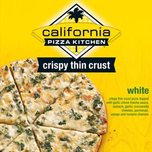 California Pizza Kitchen (CPK) Crispy Thin Crust White® Courtesy of the FDA