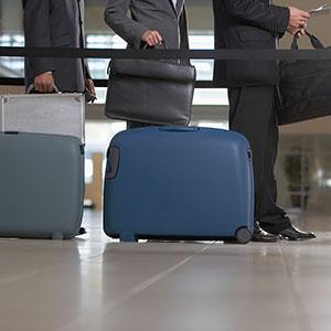 Logo: Airport check-in (Corbis)