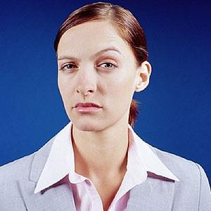 Image: Skeptical woman (© Image Source/age fotostock)