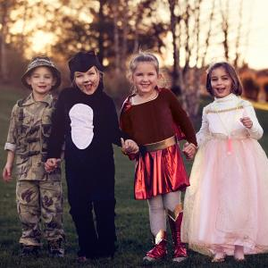 Children in Halloween costumes (© R. Nelson/Flickr Select/Getty Images)