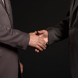 Handshake (© Image Source Black/Jupiterimages)