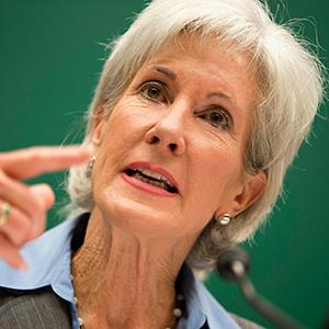 Health & Human Services Secretary Kathleen Sebelius testifying on Capitol Hill in Washington (©Evan Vucci/AP)