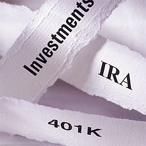 IRA and 401k © Photodisc, SuperStock