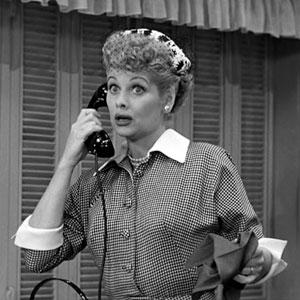 Credit: CBS Photo Archive/Getty Images&#xA;Caption: Lucille Ball in a 1952 episode of 'I Love Lucy'