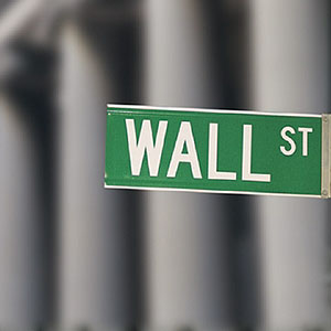 Image, Wall Street sign copyright Comstock Images, age fotostock