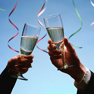 Image, New Year celebration copyright Stan Fellerman, Corbis