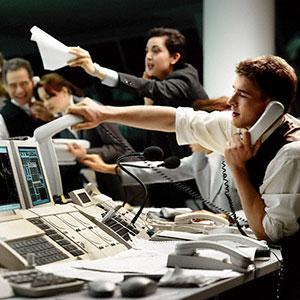 Image: Trading floor (Corbis)