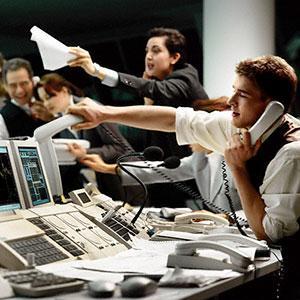 Image: Trading floor (Corbis)