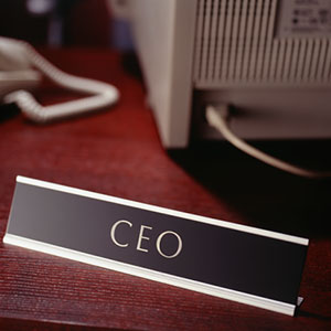 Image: CEO copyright Photodisc, Getty Images