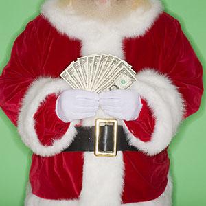 Image: Santa Claus (Tetra Images/Jupiterimages)