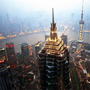 Cityscape of Shanghai -Andy Brandl, Flickr, Getty Images
