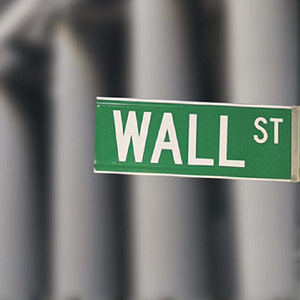 Wall Street sign, copyright Comstock Images, age fotostock