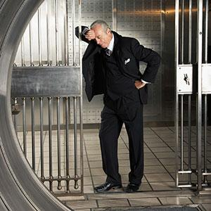 Images: Bank Vault (Radius Images/Jupiterimages)