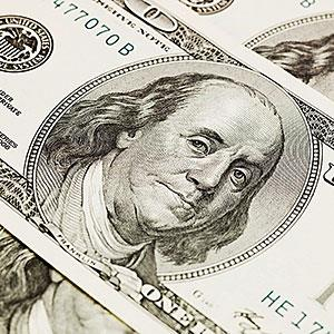 Image: $100 dollar bills -- Image Source, age fotostock