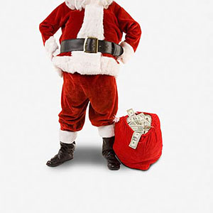 Santa Claus copyright John Lund, Jupiterimages