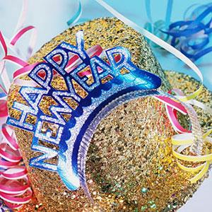 Image. New Year celebration copyright Photodisc Blue, Getty Images