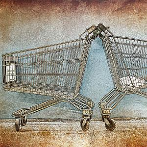 Shopping cart copyright Claus Christensen, Photographer