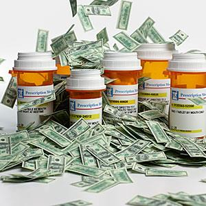 Image: Prescription medicine expenses -- Don Farrall, Photodisc, Getty Images