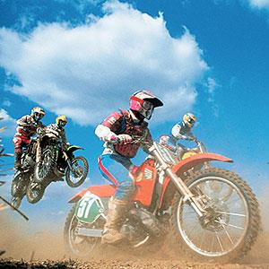 Dirt Bike Race copyright Digital Vision., Digital Vision, Getty Images