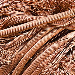 Recycled copper copyright Erik Isakson, Tetra images, Getty Images