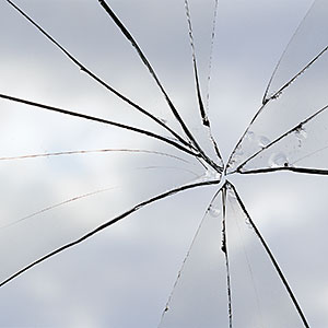 Broken window copyright Andrew Holt, Digital Vision, Getty Images