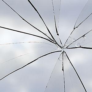 Broken window copyright Andrew Holt, Digital Vision, Getty Images