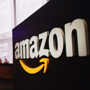 Amazon.com logo Spencer Platt Getty Images