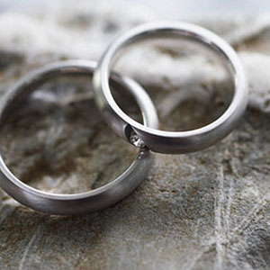 Pair of wedding rings copyright Fancy, Alamy
