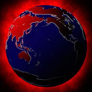 Globe copyright image100, Corbis