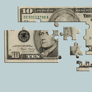 Money Puzzle Glowimages Getty Images