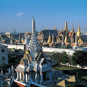 The Temple of the Emerald Buddha, Bangkok, Thailand copyright Robert Harding, Digital Vision, Getty Images